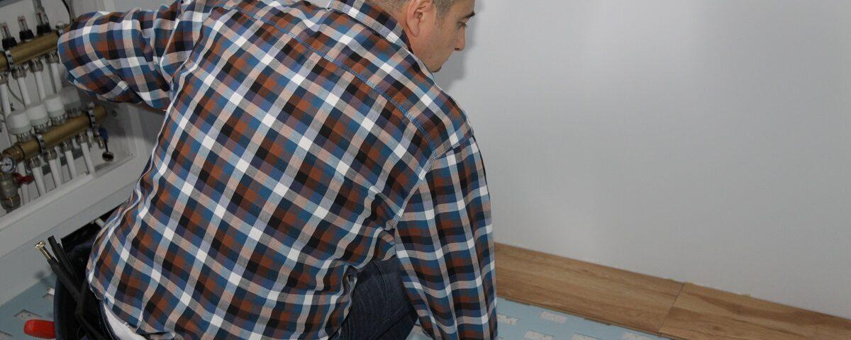 wady ogrzewania podłogowego